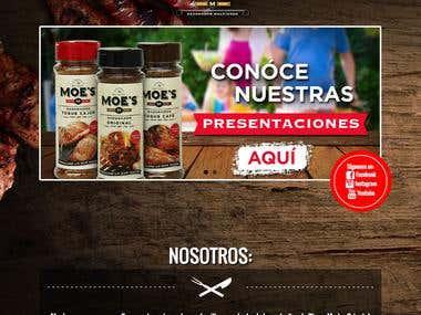 Moes Rubs Web Site