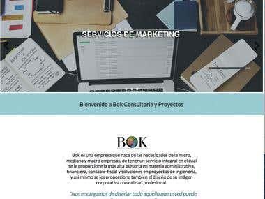Bok Web Site