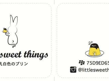 """Little Sweet Things"""
