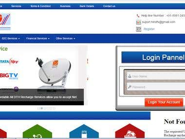Recharge & Travel Portal