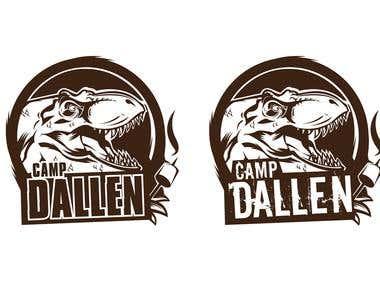 Camp Dallen party flag