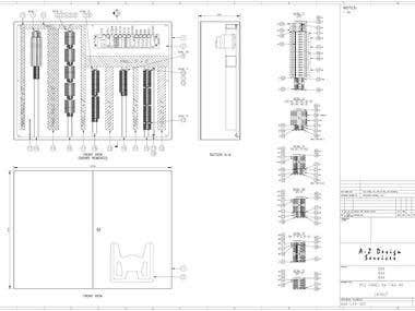PLC panel layout