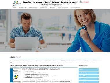 e-Journal web site
