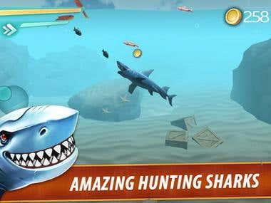 Hunting Shark 3D