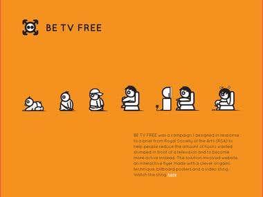 Be TV Free