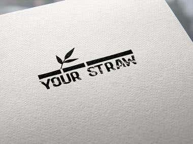 your straw logo