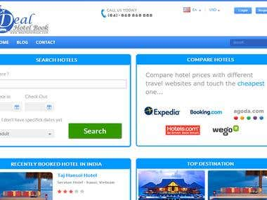 Hotel Booking and Price Comparison