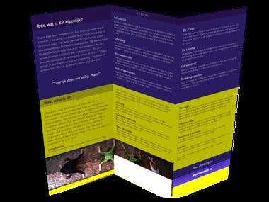 Folder ontwerp, eigen ontwerpen