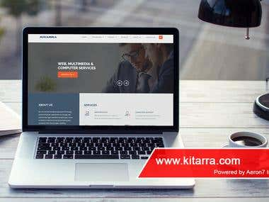 Website - Kitarra