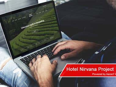 Website - Hotel Nirvana
