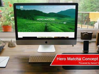 Website - Hero Matcha