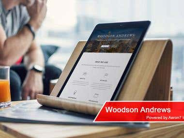 Website - Woodson Andrews