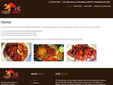 OC Cajun Sauce