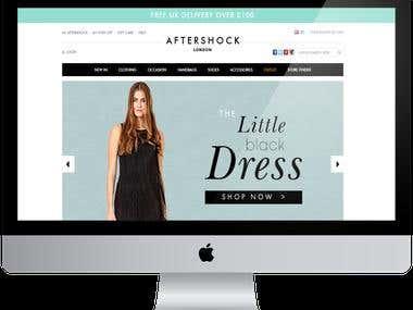 designing website .