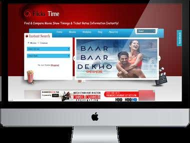 Flickstime is  most popular movie show timings Android app