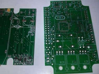 Multilayer pcb designs and surface mount developed in eagle