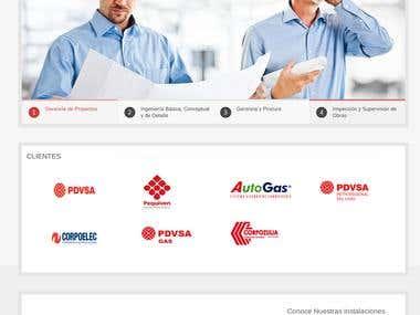 Veninco web page