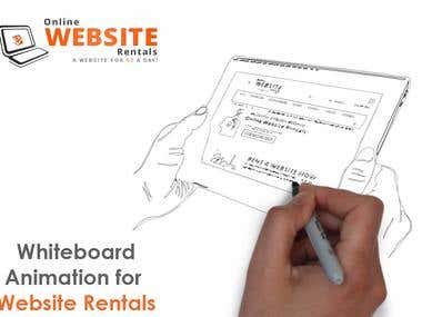 Whiteboard Animation for  www.OnlineWebsiteRentals.com