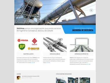 Solvinca Web page