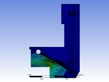 Our work in FEA (Heat transfer)
