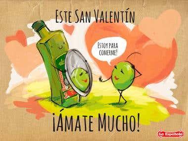 st valentine day illustration