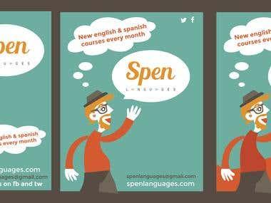 spen languages poster