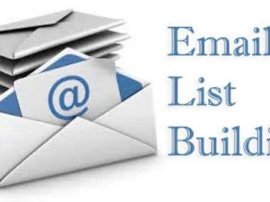 Email List Building ( Valid & Accurate Email Address )