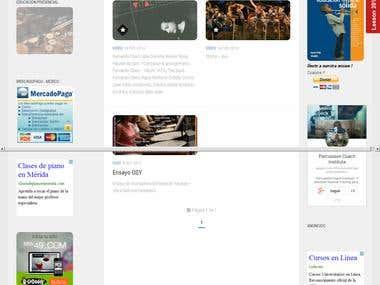 Wordpress Development - Percussion Coach Institute Website -