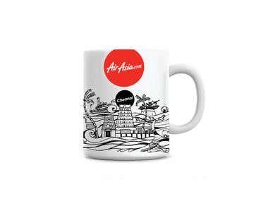 Air Asia merchandise