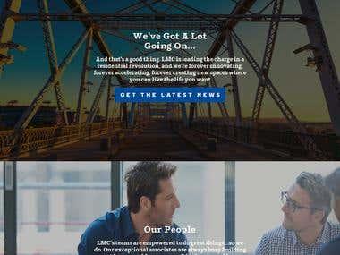 Livelmc - Responsive WordPRess Website