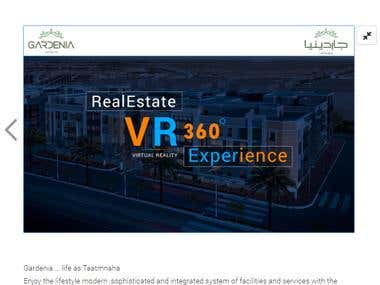 Virtual Reality Application for Real Estate