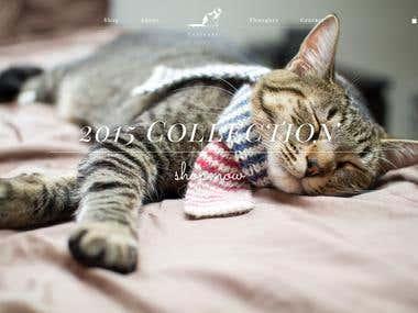 Catscarf - Shopify eCommerce Website