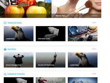 TrendMe, an informative site