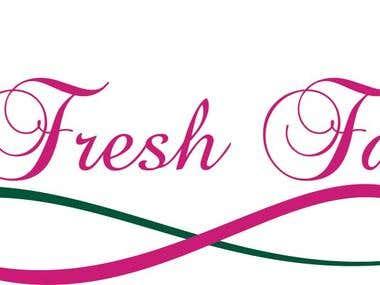 A Fresh Face Logo Design