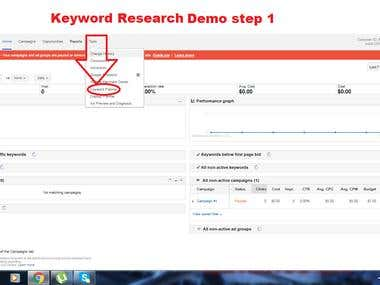 Keyword Research Demo