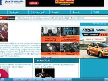 News WebsiteE H News