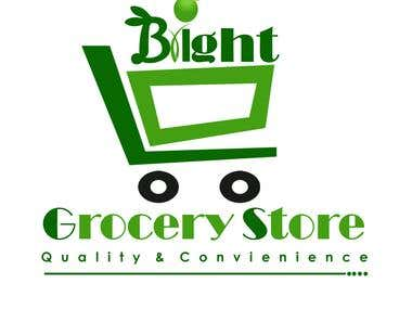 grocery store logo design