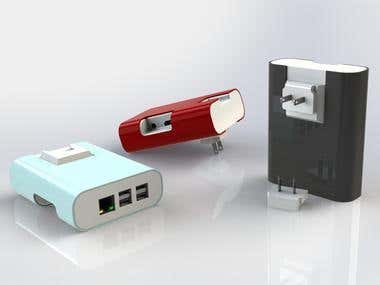 Product case industrial design