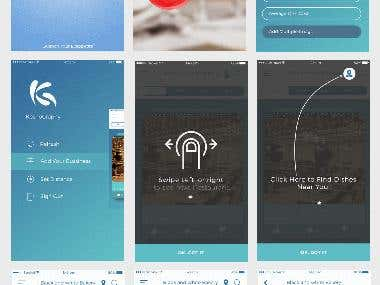 KosoGraphy ios App design