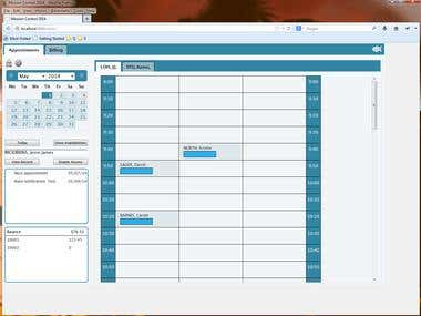 Clinic schedule management system