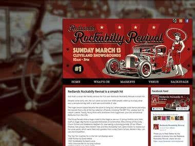 rockabillyrevival.com.au - Web Development