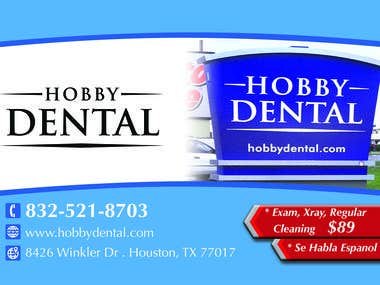 Dental Flyer (9 in X 6 in)