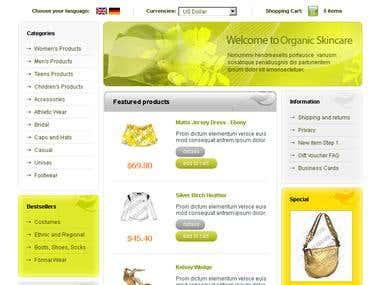 Website design, Logo design, Stationary design