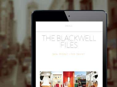 Custom Web Development - The Blackwell Files
