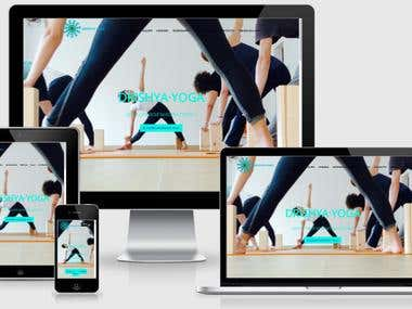 GraciaYoga - Diseño y desarrollo web Yoga