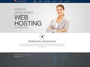 WebHosting Company Website