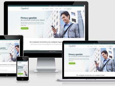Signatur.it - Diseño y desarrollo web corporativa
