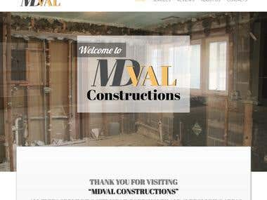 Building Constructions website | 2016