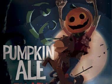 Mela's Craft Beer - Jack Pumpkin Ale Beer packaging