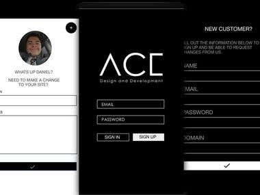 ACE APP Design